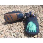 Elefántos puhatalpú vászoncipő