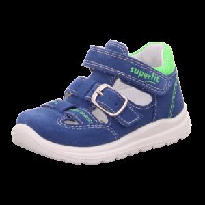 Superfit kék-zöld velúr szandálcipő 20,21,22,25,26,27