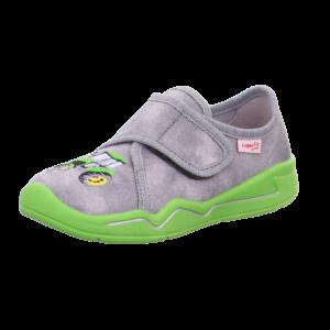 Superfit zöld traktoros vászoncipő 23-33