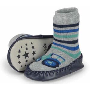 Sterntaler bőrtalpú traktoros zokni