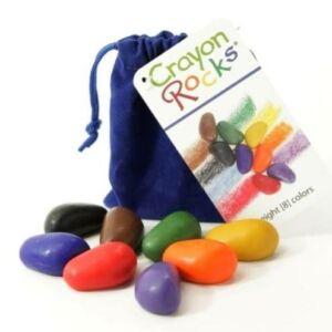 Crayon Rocks bársony szütyűben