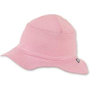 Rózsaszín apró pöttyös kalap 45