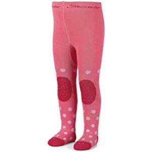 Sterntaler pink pöttyös harisnya 92