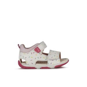 Geox Tapuz Girl White/Pink 20-26