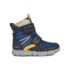 GEOX Flexyper Boy Amphibiox Navy/Orange hótaposó 28,29,33,34,35,36