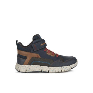 GEOX Flexyper Boy Amphibiox Navy/Red magasszárú cipő 29-36