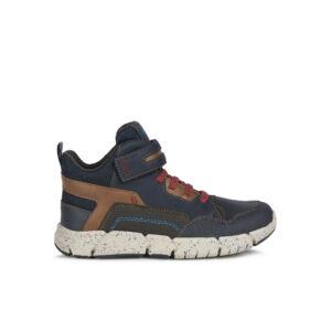 GEOX Flexyper Boy Amphibiox Navy/Red magasszárú cipő 29-36