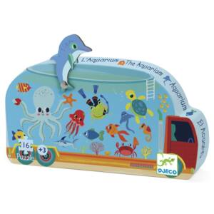 Formadobozos puzzle - Akvárium