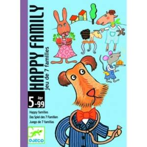 Djeco kártyajáték - Boldog család