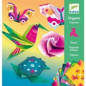 Djeco tropics origami