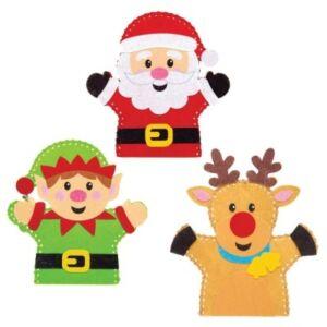 Baker Ross karácsonyi bábvarró készlet