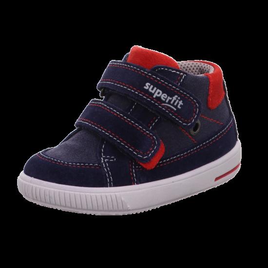 Superfit kék-piros velúrcipő 28