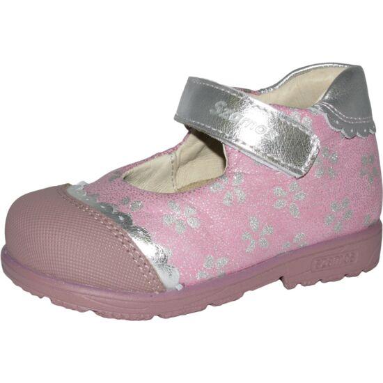 Supinált elsőlépés pink-ezüst szandálcipő 19,20,21,22,23,24