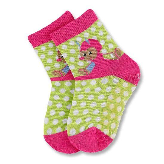 Sterntaler Air pink-lime zokni 21/22