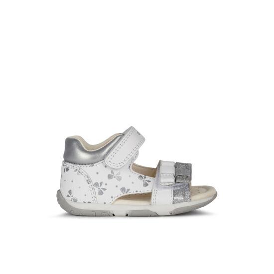 Geox Tapuz Girl White/Silver 20-26