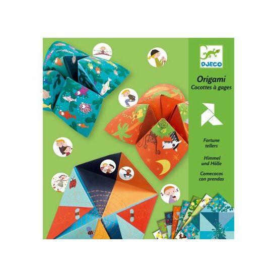 Djeco origami sótartó