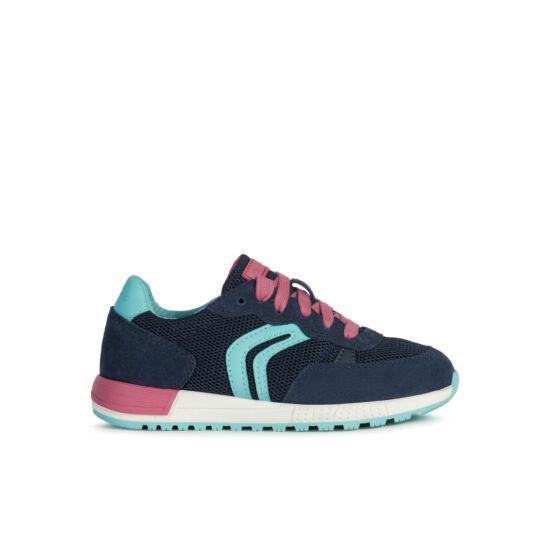 GEOX Alben Girl Navy/Fuchsia sportcipő