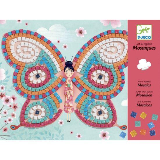 Djeco mozaikkép - Pillangó