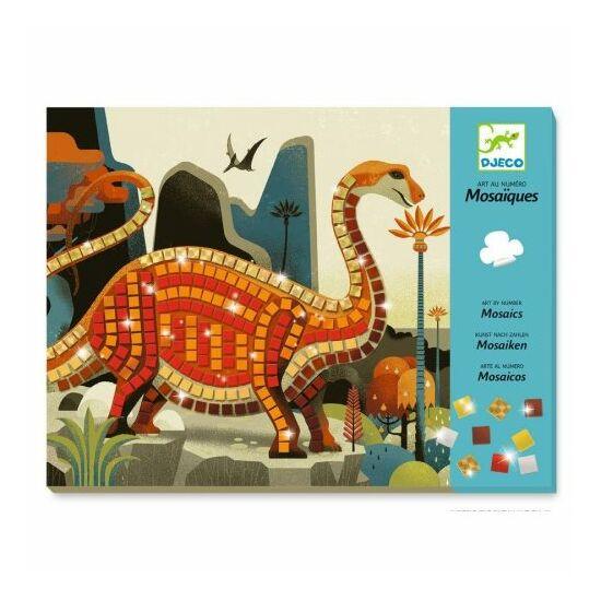Djeco dinoszaurusz mozaikkép