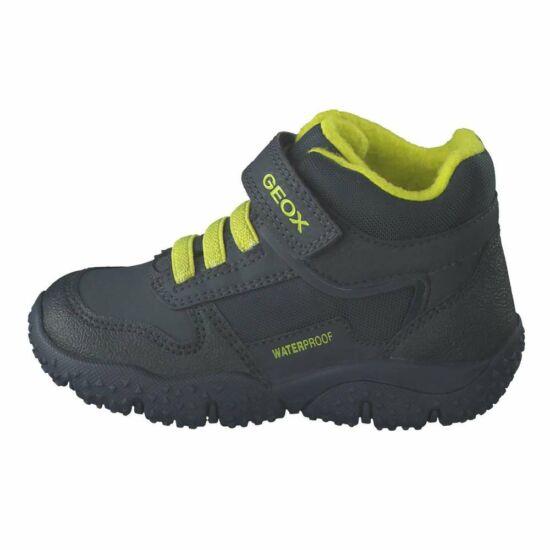 Geox Baltic Boy vízálló cipő Navy/Lime