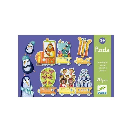 Djeco puzzle - Számolok